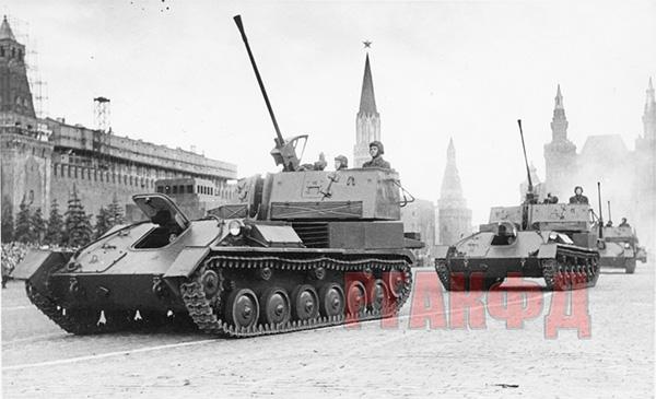 ЗСУ-37 из Кантемировской дивизии на Красной площади