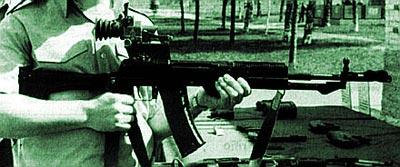 5,45-мм автомат АН-94 «Абакан» на испытаниях