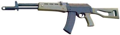 5,45-мм автомат АЕК-971. Как видим, для упрощения производства использованы многие детали АК-74