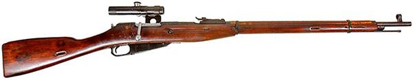 снайперская винтовка системы Мосина