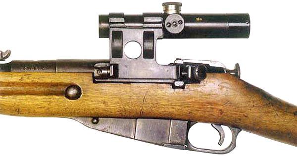 Снайперский прицел ПУ