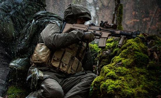 Monsoon SmallPac Rain Suit — военно-полевой водостойкий костюм от UF PRO