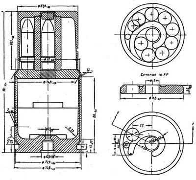 15-мм многопульный патрон HF-15