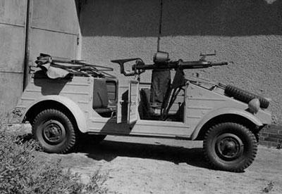 20-мм пушка LFF на автомобиле «Кюгельваген»