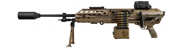<a href='https://arsenal-info.ru/b/book/3005399322/95' target='_self'>Пулемет MG</a> 338 с обоймой в виде ленты, легкий среднеразмерныйи отличающийся короткоходной системой газосброса для перезаряжания. (SIG Sauer).