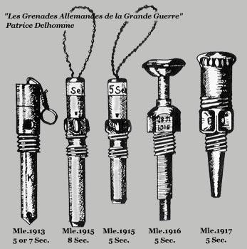 запалы используемые в гранате Eierhandgranate 17