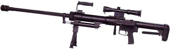 Снайперская винтовка 12.7 mm JS 05
