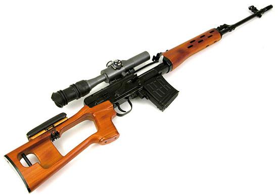 Отечественные снайперские винтовки