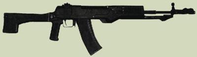 5,45-мм автомат Никонова АСМ, проходивший государственные испытания в 1991 г.