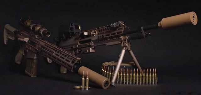 6,8-мм пулемёт NGSW-AR и штурмовая винтовка NGSW-R фирмы SIG Sauer