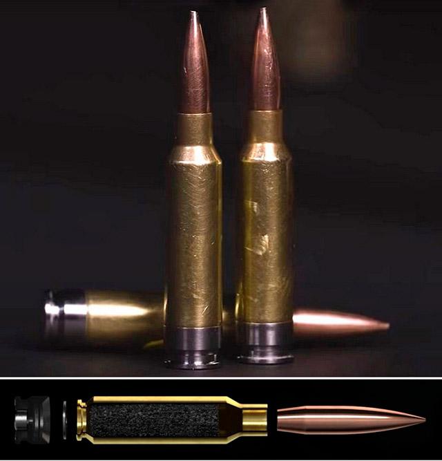 Новые 6,8-мм патроны SIG Sauer с гибридной гильзой для программы NGSW