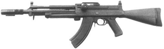 Madsen LAR M/62 под патрон 7.62х39