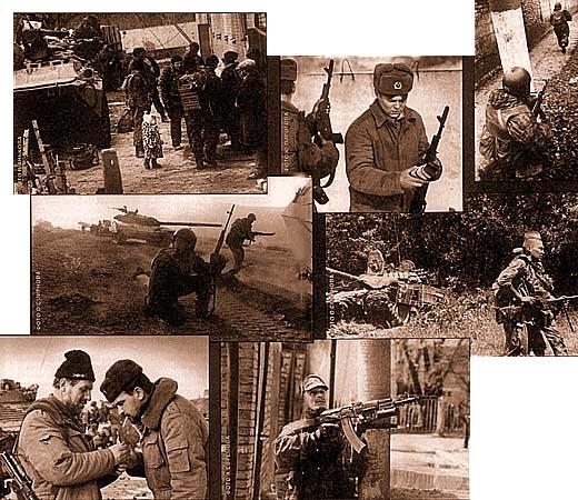 Чем мы воевали в Чечне