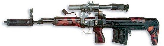 7,62-мм снайперская винтовка СВУ (СВД-У), созданная по схеме «буллпап»