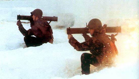 Реактивный пехотный огнемет РПО «Шмель»