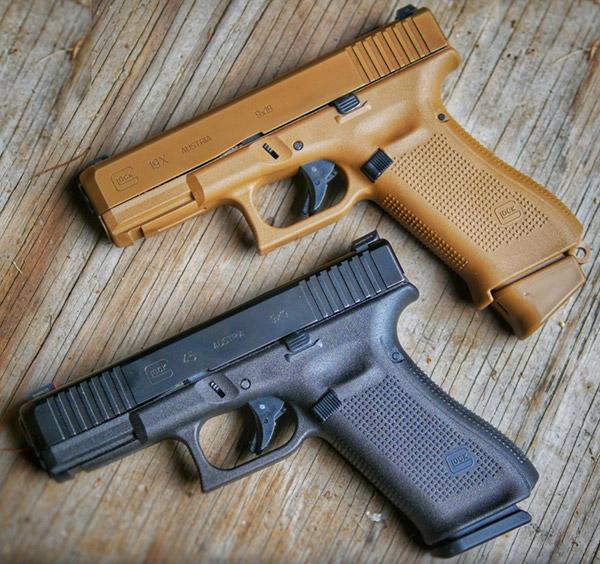 Glock 45 и Glock 19X