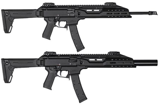 CZ Scorpion EVO 3 S1 Carbine Magpul Edition и EVO 3 S1 Carbine Faux Suppressor Magpul Edition