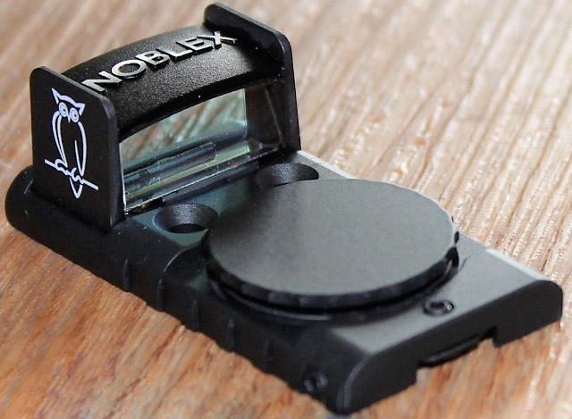 Новый мини коллиматорный прицел GLOCK Sight от Noblex был специально разработан для установки на пистолетах GLOCK M.O.S.