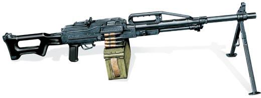 Пулемет ПКП «печенег», Россия, 1999 г.