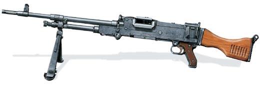 Единый пулемет L7, модификация бельгийского MAG, принятая в Великобритании в 1963 г.