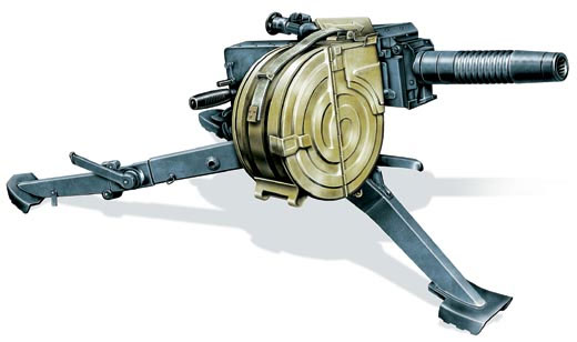 Станковый автоматический гранатомет АГС-17 «пламя», СССР, 1971 г.