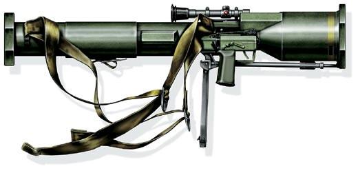 Реактивное противотанковое оружие MBT-LAW «бофорс» (опытное), Швеция