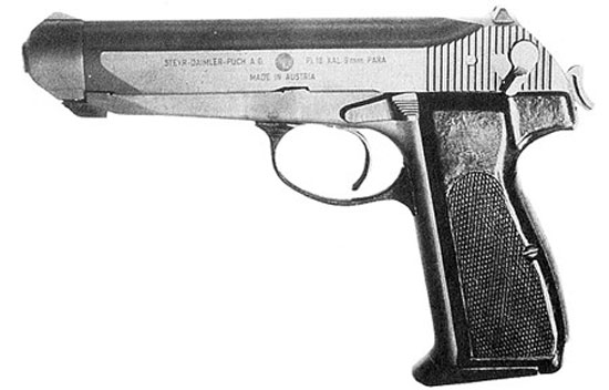 Steyr Pi-18 ранний вариант
