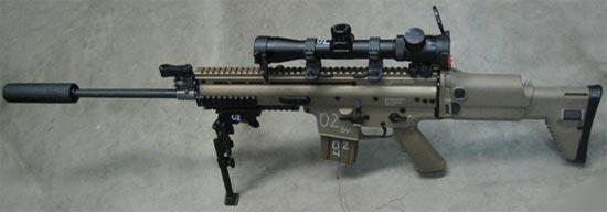 FN SCAR-L SV (Sniper Variant)