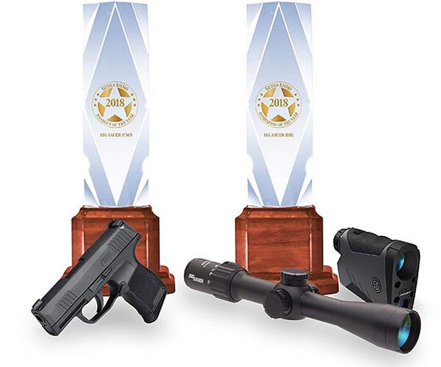 Sig Sauer получила награды Guns & Ammo