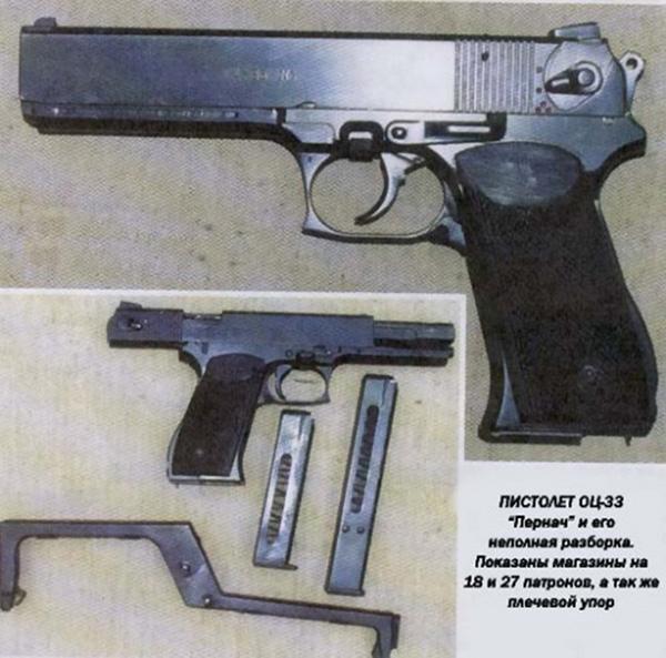 Пистолет «Пернач» ОЦ-33