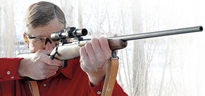 84М – это хорошо сбалансированная винтовка с удивительно лёгкой для такого небольшого веса отдачей.