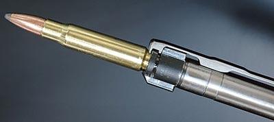 У Kimber 84M маузеровский экстрактор и контролируемая подача.