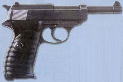 9-мм самозарядный пистолет «Вальтер» Р-38