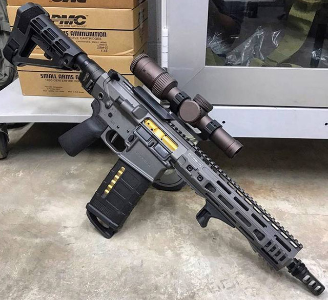 Type A 10.5 .308 AR Pistol