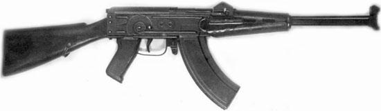 ТКБ-454-7А с постоянным деревянным прикладом
