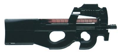 5,7-мм пистолет-пулемет FN P 90
