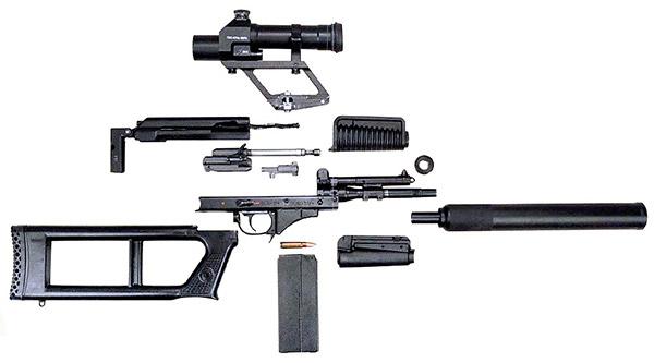 Неполная разборка снайперской винтовки ВСК-94