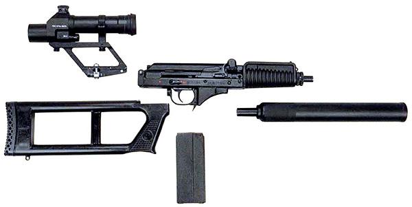 ВСК-94 легко разбирается на несколько блоков, в таком виде укладывается в специальный кейс для транспортировки и хранения