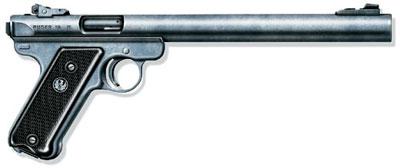 Бесшумный самозарядный пистолет «Эмфибиен» Mk II, США