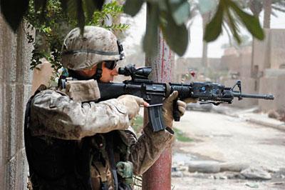 «Черная винтовка». Прорыв
