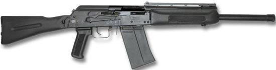 Сайга 12К со складным прикладом и укороченным стволом