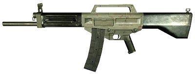 USAS-12 с прикрепленным магазином