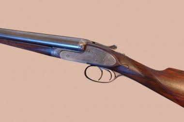 Охотничье ружье Purdey с запиранием блока стволов только нижней двойной рамкой