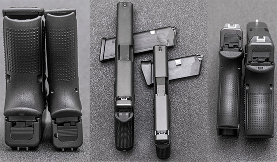 30 мм и 26 мм — разница в толщине более чем наглядна