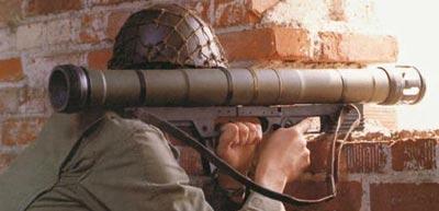 Armbrust стрельба из закрытого помещения