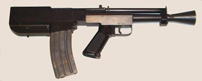 5.56-мм самозарядный «пистолет» Bushmaster Armpistol, созданный в компоновке буллпап