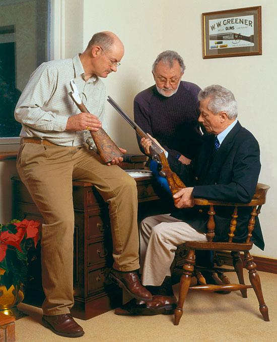 Новое руководство компании. Слева направо: Ричард Тэнди, Дэвид Драйхерст, Грэм Гринер