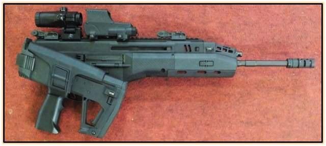 израильская штурмовая винтовка Carmel