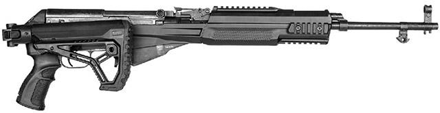 СКС в системе шасси M4 SKS