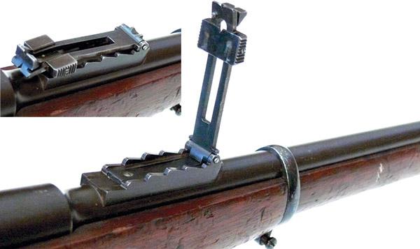 Прицелы к винтовкам Нагана были разработаны Комиссией. Это было одним из условий конкурса